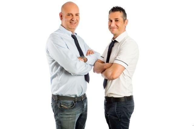 Roberto Ventura i Gaetano D'Aloisio, założyciele Rotoby