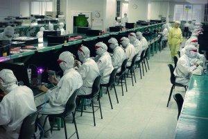 Fabryka Foxconn w Shenzen