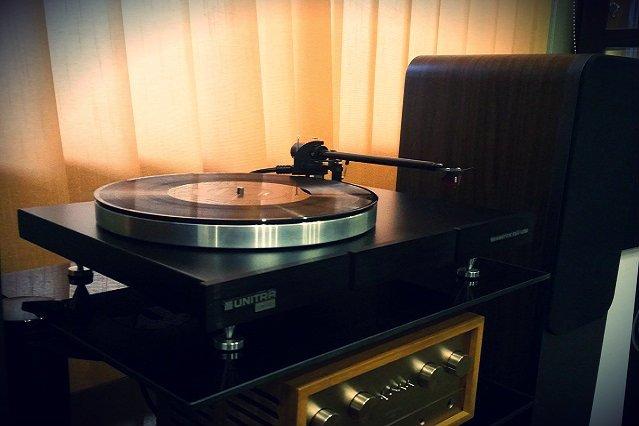 Gramofon ESG U310, jeden z produktów linii Hi-Audio, przeznaczony dla starszego i bardziej wymagającego odbiorcy