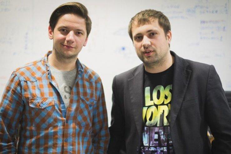 Witalij Kedyk i Jurij Szewczenko - ukraińscy przedstawiciele Wishround