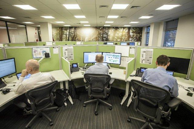 Krakowskie biuro jednego z koncernów informatycznych.