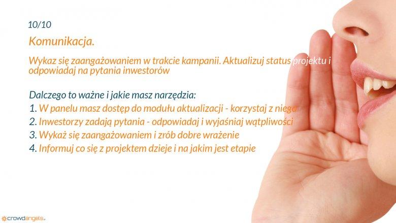 Crowdfunding udziałowy – komunikacja z inwestorami
