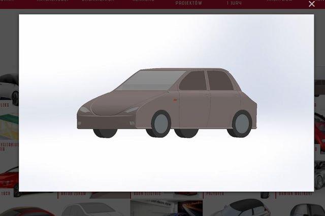 Trudno orzec, czy organizatorzy konkursu na projekt elektrycznego auta spodziewali się podobnych prac