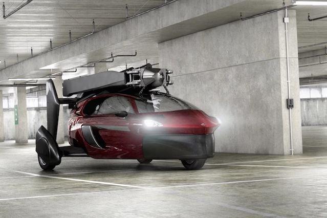 Żyrokoptery holenderskiej firmy nie są tanie, ale pozwalają poruszać się na ziemi i w powietrzu.
