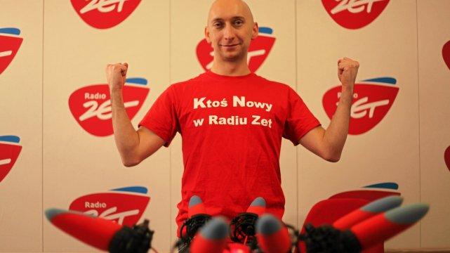 Kamil Nosel zdobył wymarzoną pracę w Radiu Zet dzięki pomysłowej 3-tygodniowej akcji.