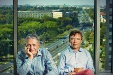 Założyciele CloudFerro: Maciej Krzyżanowski i Stanisław Dałek.