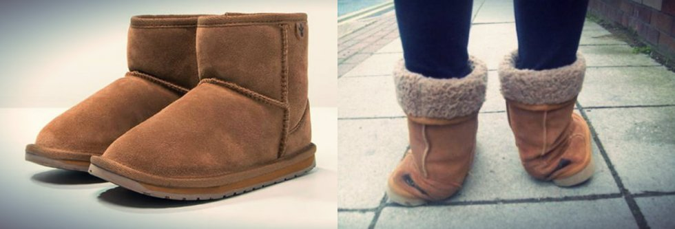 Różnicę między podróbkami a oryginalnymi butami Emu widać na pierwszy rzut oka.