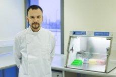 Dr Adam Kuzdraliński, twórca Nexbio