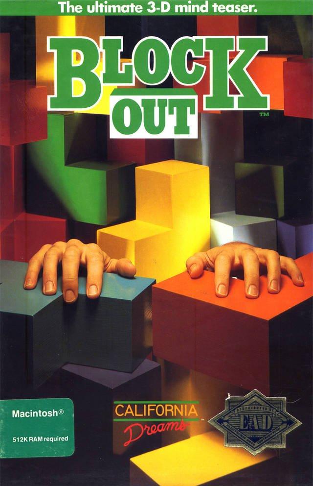 Tak wyglądała okładka gry w wersji na Macintosha