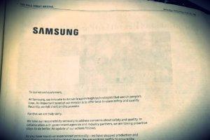 Przeprosiny Samsunga w Wall Street Journal