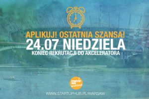 Startup Hub Warsaw zaprasza.