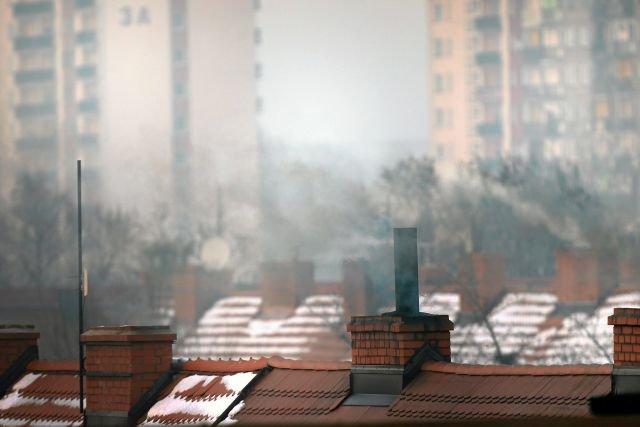 Smog w Zabrzu