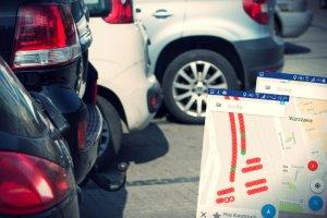 Na razie testy aplikacji SmartParking prowadzone są na dwóch najpopularniejszych parkingach.