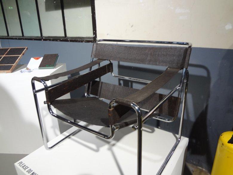 Krzesło ze skórek po owocach, Marcel Breuer/Jordi Verbaan
