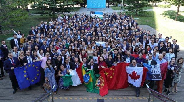 Uczestnicy G20 YEA Summit 2016 w Pekinie