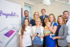 Patrycja Wizińska-Socha z zespołem Nestmedic. Ich urządzenie do domowego badania KTG, Pregnabit, trafi do sprzedaży jesienią 2017 roku