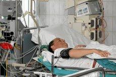 Pacjent po pierwszym przeszczepie nerki w województwie warmińsko-mazurskim.