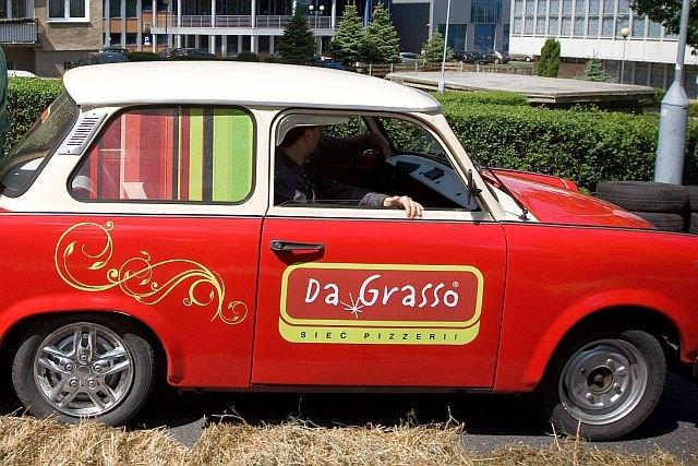Połowa pizzy z Da Grasso sprzedawana jest w dowozie