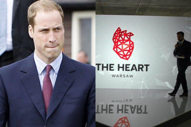 Brytyjska para książęca znajdzie się w The Heart, gdzie porozmawia o projekcie współpracy technologicznej między Warszawą a Londynem