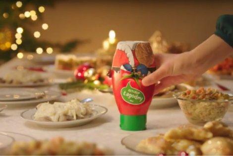 Ketchup na święta? Może niektórym pocieknie ślinka.