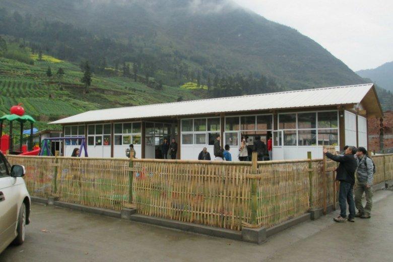 Szkoła w miejscowości Yaan pod Chengdu, prowincja Syczuan.