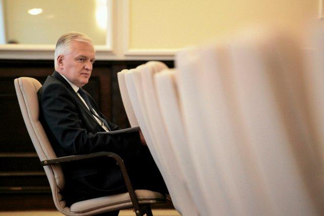 Minister nauki Jarosław Gowin.