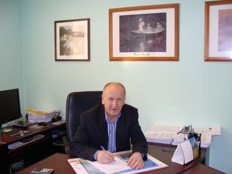 """Włodzimierz Olszewski, prezes Regionalnej Grupy Producentów Drobiu """"Farmer"""" - Iława"""