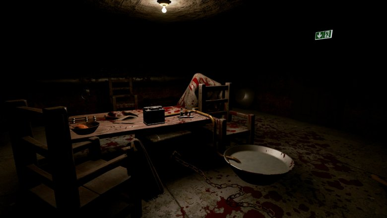 Krwawe sceny nie są wbrew pozorom częstym widokiem w grze