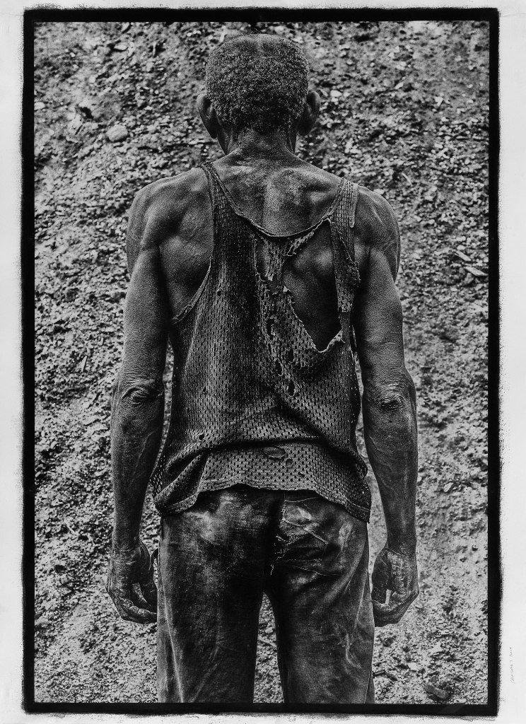 """Foto: Stéphane Noël, """"Cara a Cara"""", fotografia w technice gumy dwuchromianowej"""
