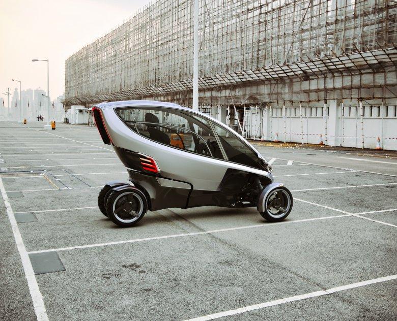 Dzięki możliwości parkowania prostopadle na miejscach parkingowych 5 Triggo zajmuje tyle miejsca, co jeden zwykły samochód