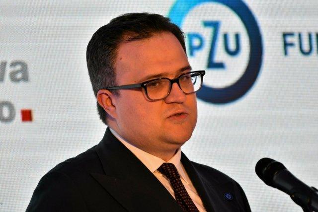 Prezes PZU, Michał Krupiński.