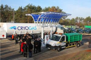 Stacja w Śremie to pierwsza taka placówka, otwarta dla wszystkich samochodów.