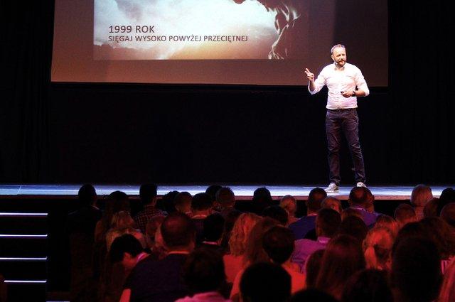 Andrzej Gondek podczas Festiwalu Inspiracji 2015