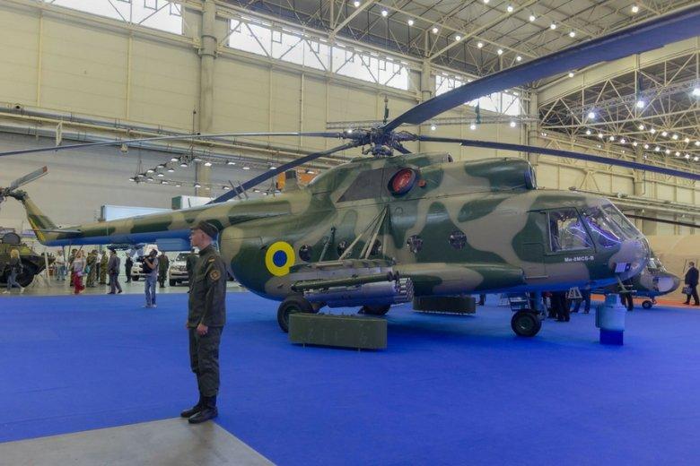 Zmodernizowana wersja Mi-8 zaprezentowana w ubiegłym roku w Kijowie.