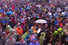 March for Science w jednym z amerykańskich miast