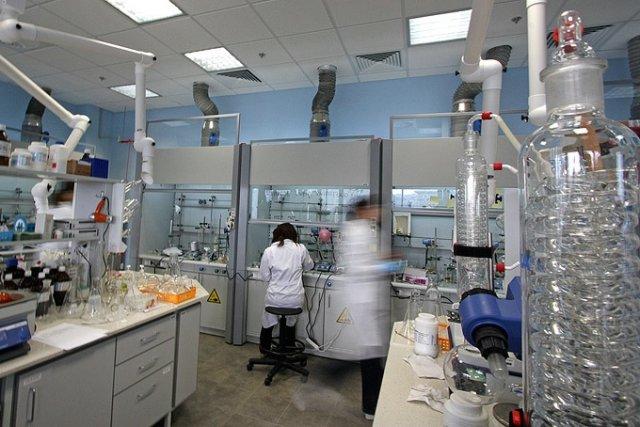 Laboratorium firmy Selvita w Life Science Park w Krakowie