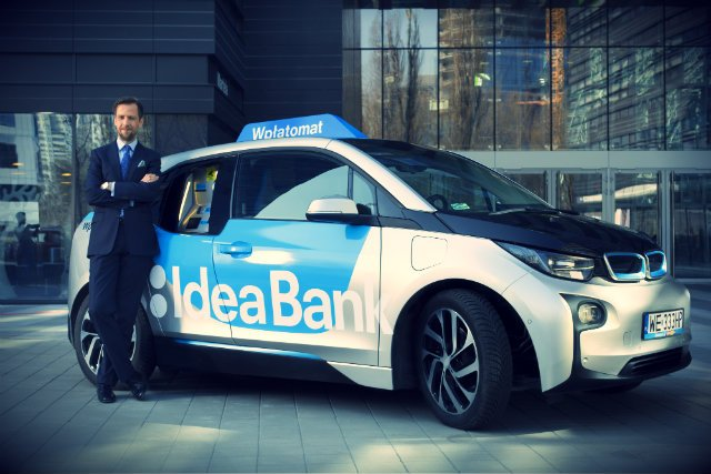 Dominik Fajbusiewicz, członek zarządu Idea Banku, wymyślił wpłatomaty, żeby przyciągnąć do banku przedsiębiorców