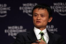 Jack Ma, twórca serwisu Alibaba.