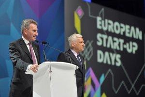 Günther H. Oettinger, komisarz UE ds. Gospodarki Cyfrowej i Społeczeństwa, chwalił przedsięwzięcie, jakim jest European Start-up Days