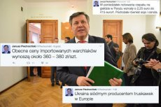 W Twitterze Janusz Piechociński ma czarny pas.