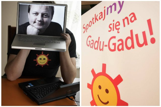 Twórca Gadu-Gadu Łukasz Fołtyn.