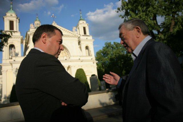 Piotr Walter (na zdjęciu z ojcem Mariuszem Walterem) i Tomasz Gudzowaty to chyba najbardziej znane przypadki porzucenia rodzinnych biznesów.