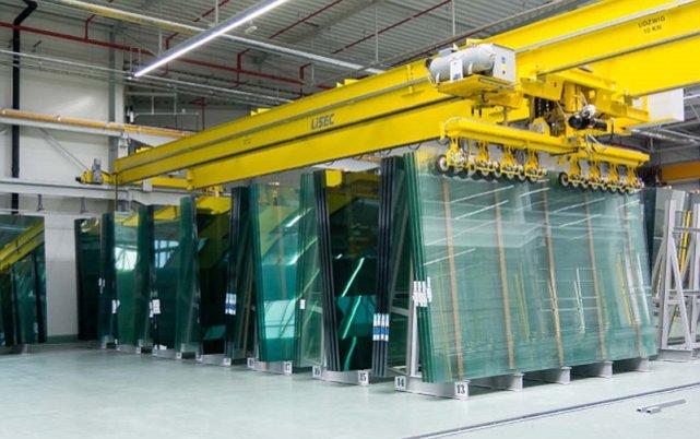 Produkcja szyb zespolonych w Europejskim Centrum Stolarki