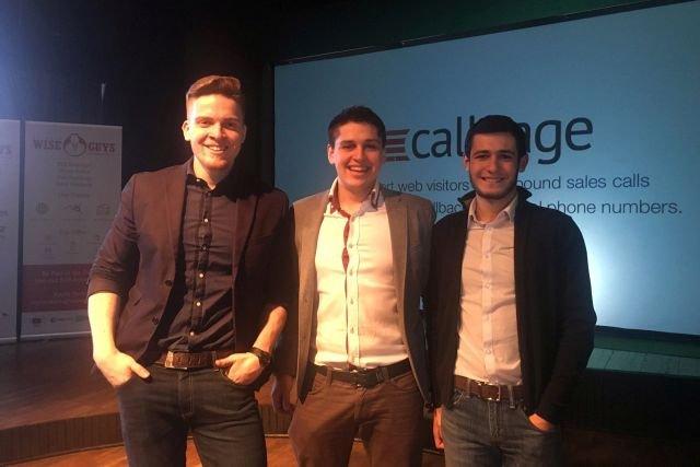 Andrey Tkacziw, Ross Knap i Sergey Butko, współtwórcy CallPage