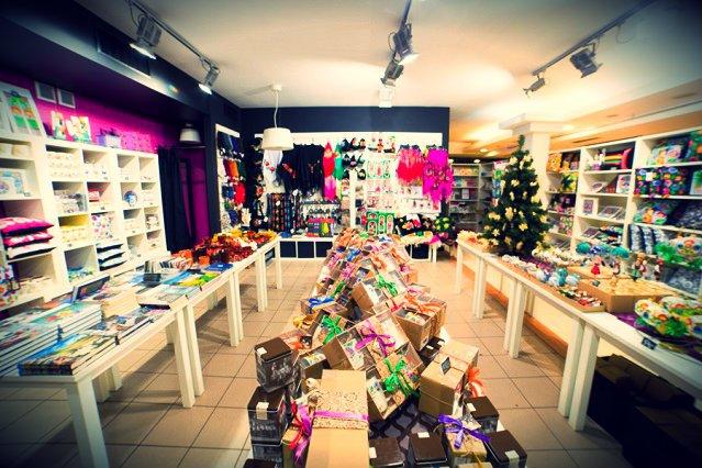 Wnętrze sklepu w Łowiczu