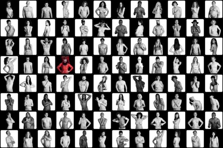 Mozaika zdjęć projektu Let's Talk About Sex