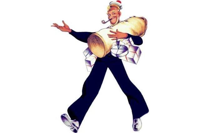 Przez wiele lat symbolem Baltony był uśmiechnięty marynarz z fajką w zębach