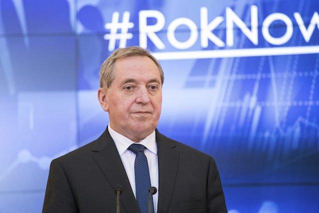 Minister Henryk Kowalczyk.