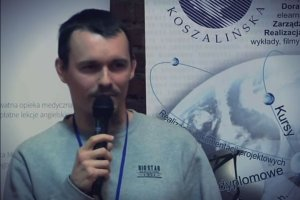 Mateusz Maksymiuk podczas sparkcamp