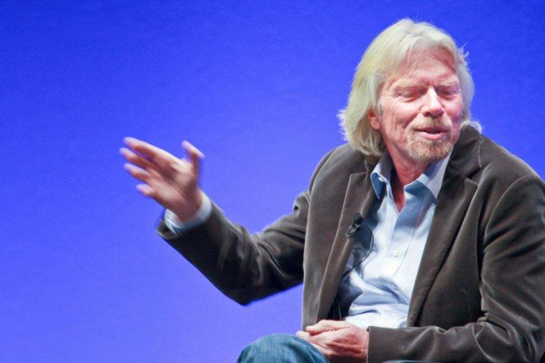 Richard Branson: ekscentryk, marzyciel? Nie, decyzje zapadające w Virgin są bardzo dogłębnie przemyślane.